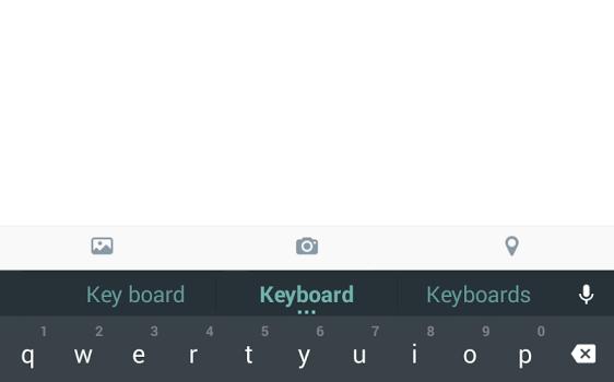 Android L Keyboard Ekran Görüntüleri - 2