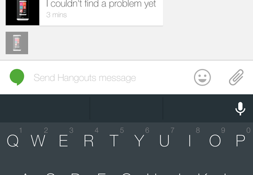 Android L Keyboard Ekran Görüntüleri - 1