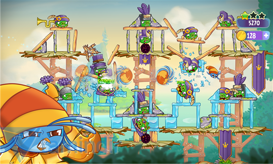 Angry Birds Stella Ekran Görüntüleri - 1