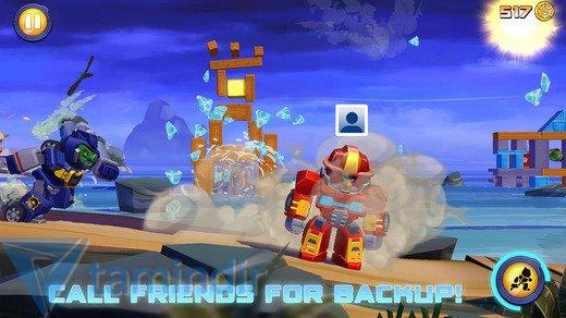 Angry Birds Transformers Ekran Görüntüleri - 1