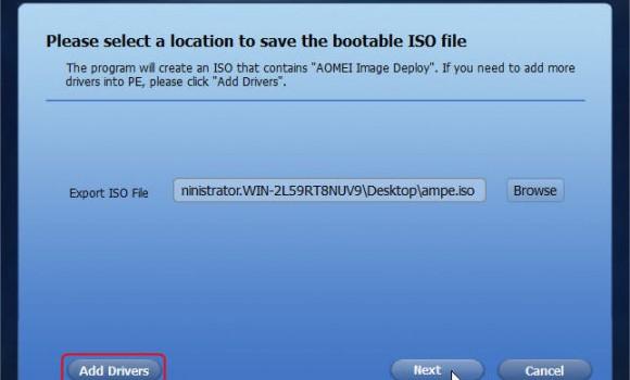 AOMEI Image Deploy Ekran Görüntüleri - 4