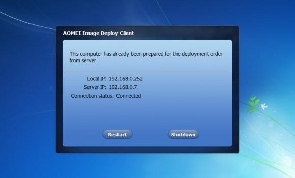 AOMEI Image Deploy Ekran Görüntüleri - 2