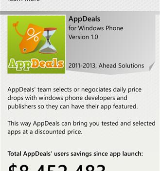 AppDeals Ekran Görüntüleri - 1
