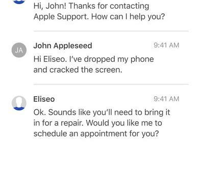 Apple Support Ekran Görüntüleri - 3