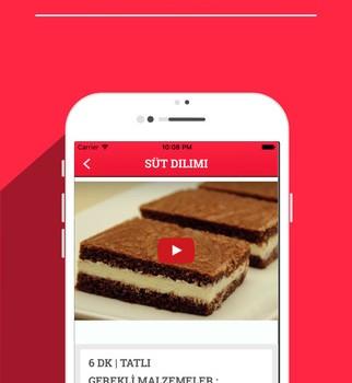 Aşçı - Videolu Pratik Yemek Tarifleri Ekran Görüntüleri - 2