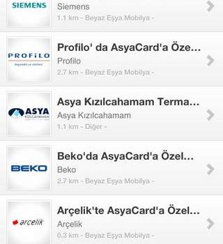 AsyaCard Ekran Görüntüleri - 1