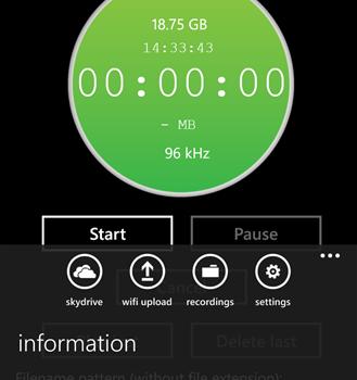Audio Recorder Pro Ekran Görüntüleri - 2