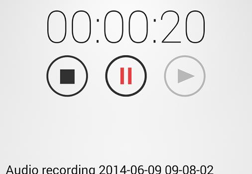 Audio Recorder Ekran Görüntüleri - 2