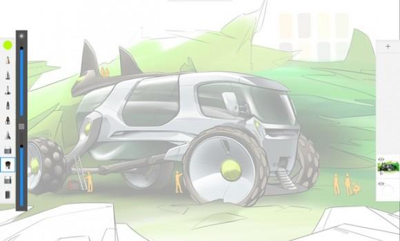 Autodesk SketchBook Ekran Görüntüleri - 3