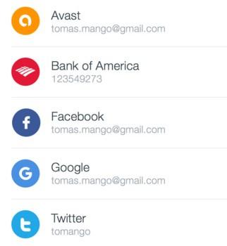 Avast Passwords Ekran Görüntüleri - 3