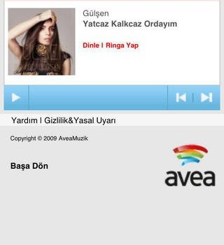 Avea Müzik Ekran Görüntüleri - 2