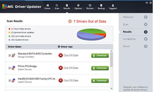 AVG Driver Updater Ekran Görüntüleri - 1