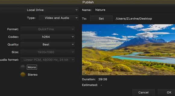 Avid Media Composer Ekran Görüntüleri - 1