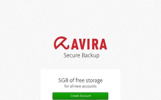 Avira Secure Backup Ekran Görüntüleri - 3