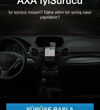 AXA İyiSürücü Ekran Görüntüleri - 1