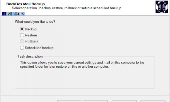 BackRex Mail Backup Ekran Görüntüleri - 3