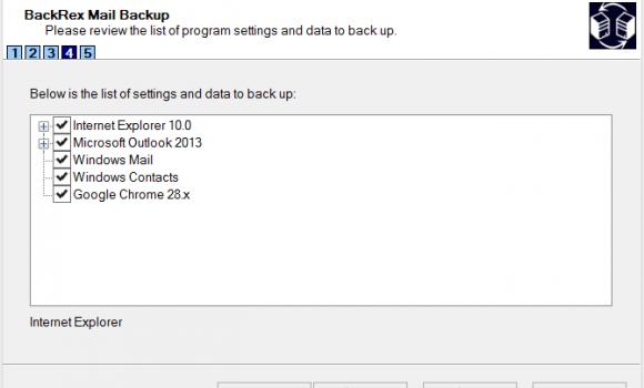 BackRex Mail Backup Ekran Görüntüleri - 1