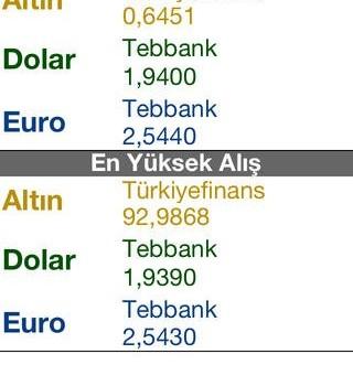 BankaTakip Ekran Görüntüleri - 2