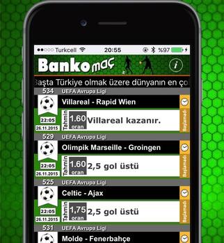 Banko Maç Ekran Görüntüleri - 3