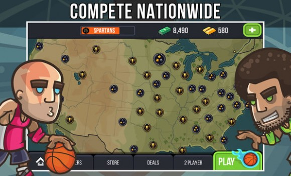 Basketball Battle Ekran Görüntüleri - 2