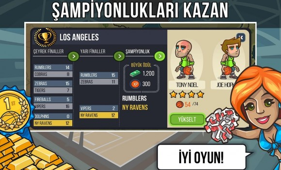 Basketball Battle Ekran Görüntüleri - 1