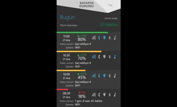 Batarya Durumu Ekran Görüntüleri - 1