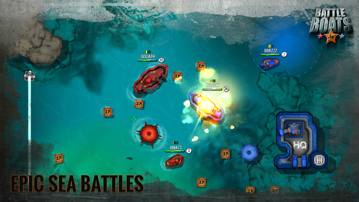 Battleboats.io Ekran Görüntüleri - 2