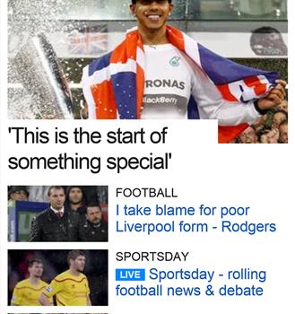 BBC Sport Ekran Görüntüleri - 3