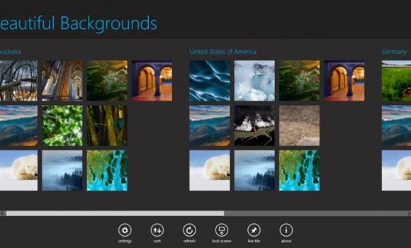 Beautiful Backgrounds Ekran Görüntüleri - 1