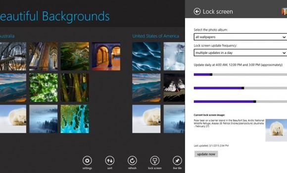 Beautiful Backgrounds Ekran Görüntüleri - 3