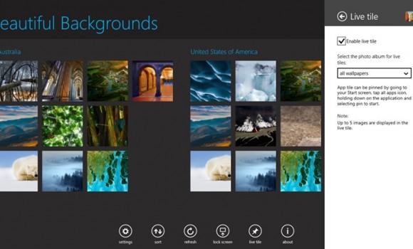 Beautiful Backgrounds Ekran Görüntüleri - 5