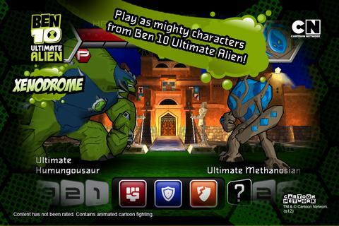 Ben 10 Ultimate Alien: Xenodrome Ekran Görüntüleri - 4