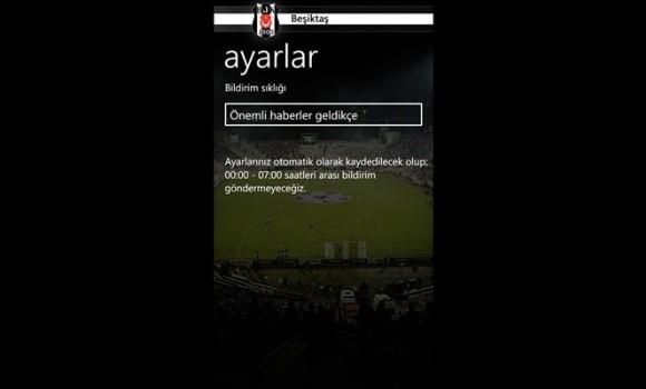 Beşiktaş Ekran Görüntüleri - 1