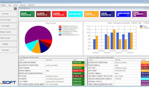 Bilsoft Online Teknik Servis Takip Programı Ekran Görüntüleri - 5