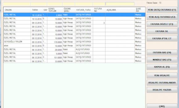 Bilsoft Yazılım Online Ön Muhasebe Programı Ekran Görüntüleri - 7