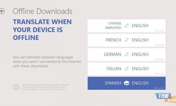 Bing Translator Ekran Görüntüleri - 1