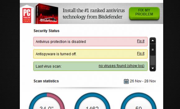Bitdefender 60-Second Virus Scanner Ekran Görüntüleri - 3