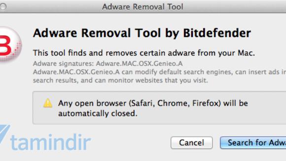 Bitdefender Adware Removal Tool Ekran Görüntüleri - 1