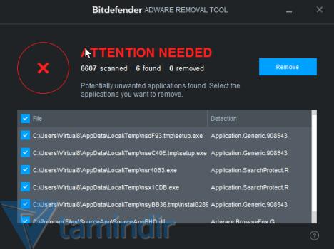 Bitdefender Adware Removal Tool Ekran Görüntüleri - 2