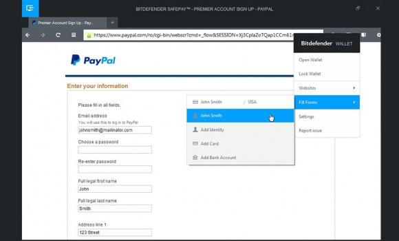 BitDefender Safepay Ekran Görüntüleri - 2