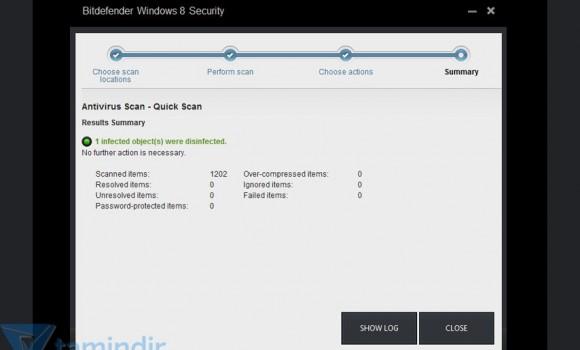 Bitdefender Windows 8 Security Ekran Görüntüleri - 1
