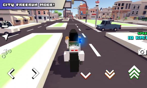 Blocky Moto Racing Ekran Görüntüleri - 4