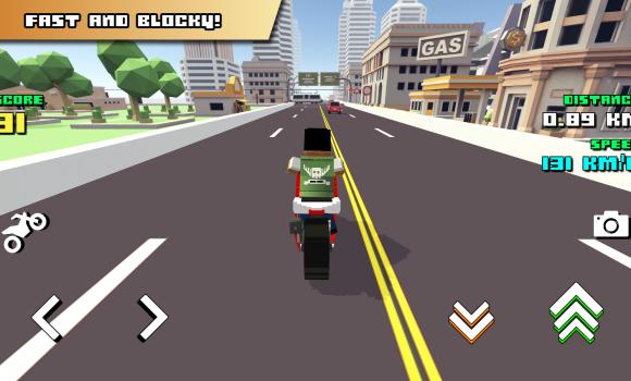 Blocky Moto Racing Ekran Görüntüleri - 1
