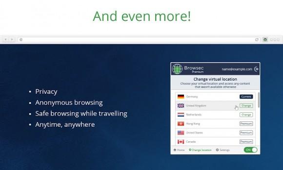Browsec VPN Ekran Görüntüleri - 2