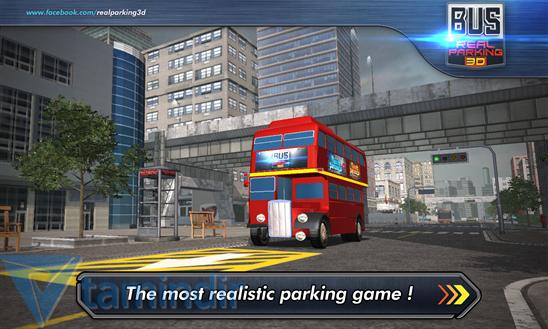 Bus Real Parking 3D Ekran Görüntüleri - 3