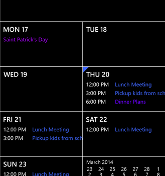 Calendar Ekran Görüntüleri - 2