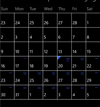 Calendar Ekran Görüntüleri - 1