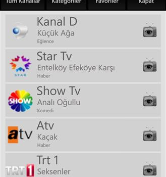 Canlı TVim Ekran Görüntüleri - 3