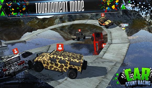Car Stunt Racing Ekran Görüntüleri - 5