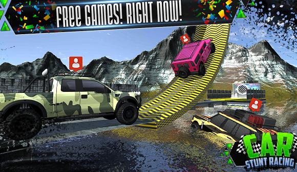 Car Stunt Racing Ekran Görüntüleri - 3